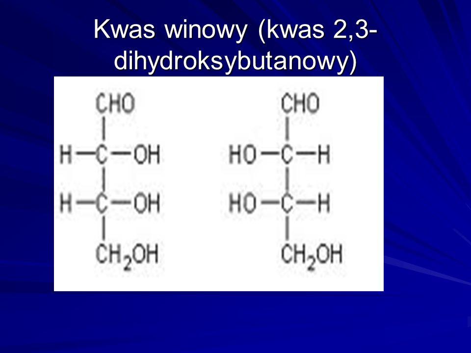 Kwas winowy (kwas 2,3-dihydroksybutanowy)