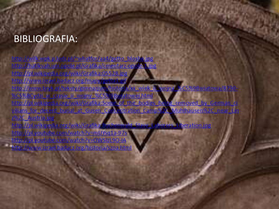BIBLIOGRAFIA: http://wilk.wpk.p.lodz.pl/~whatfor/aa4/getto_bloshe.jpg