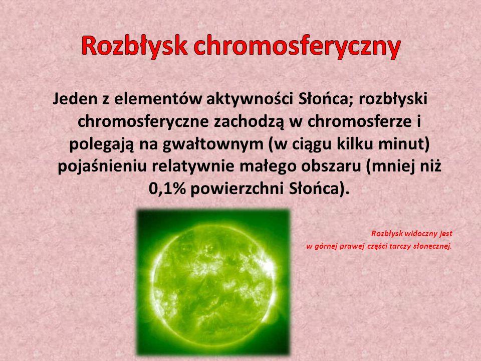 Rozbłysk chromosferyczny