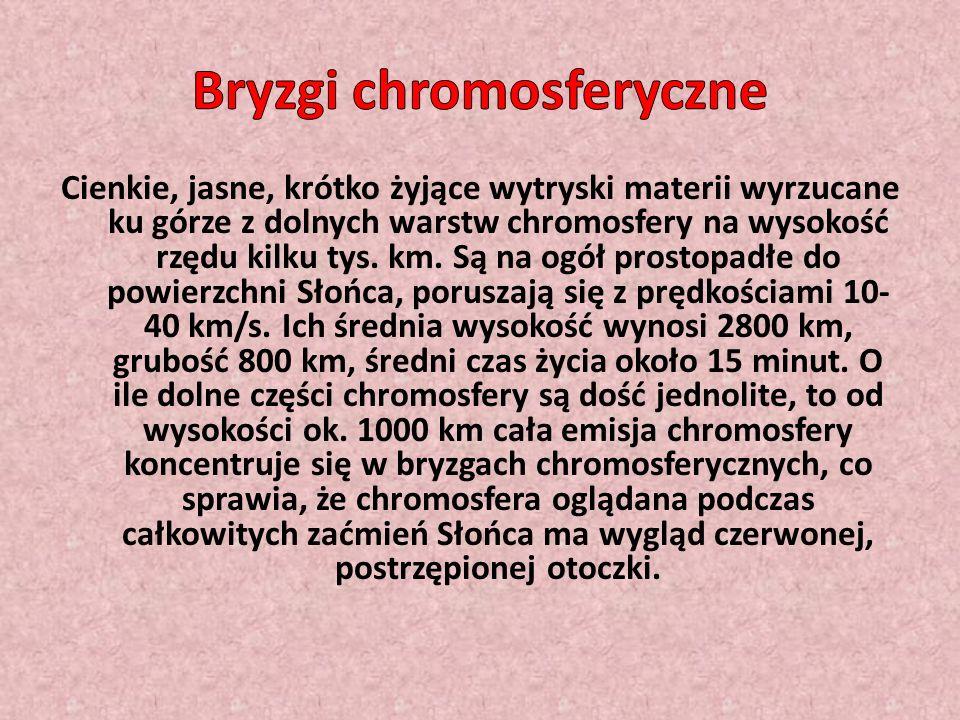 Bryzgi chromosferyczne