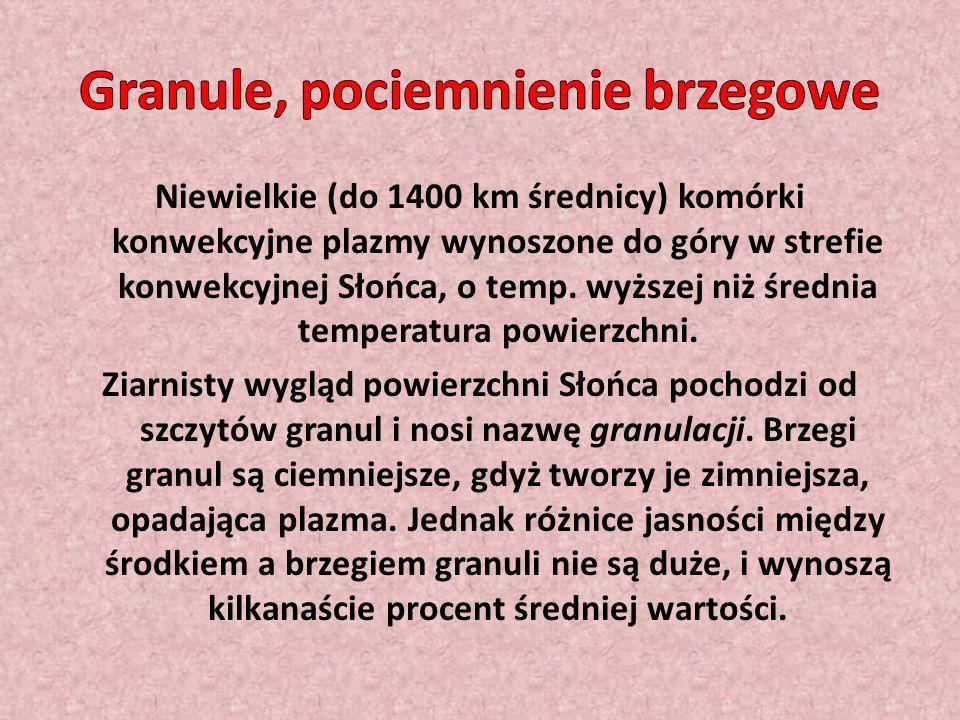 Granule, pociemnienie brzegowe