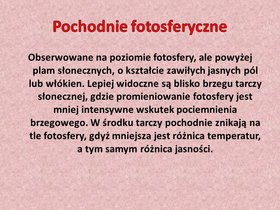 Pochodnie fotosferyczne