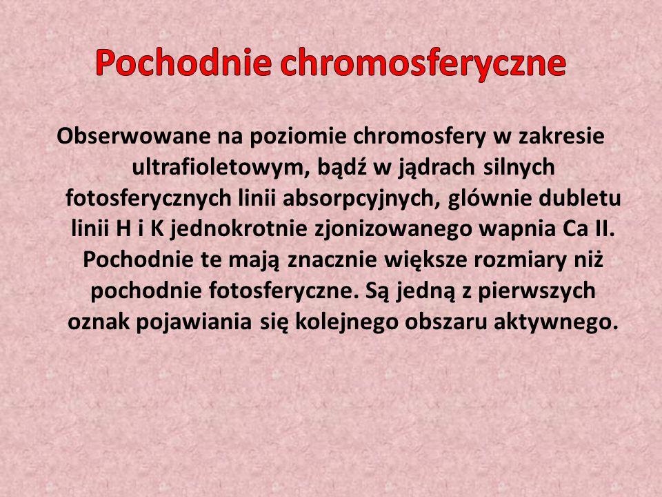 Pochodnie chromosferyczne