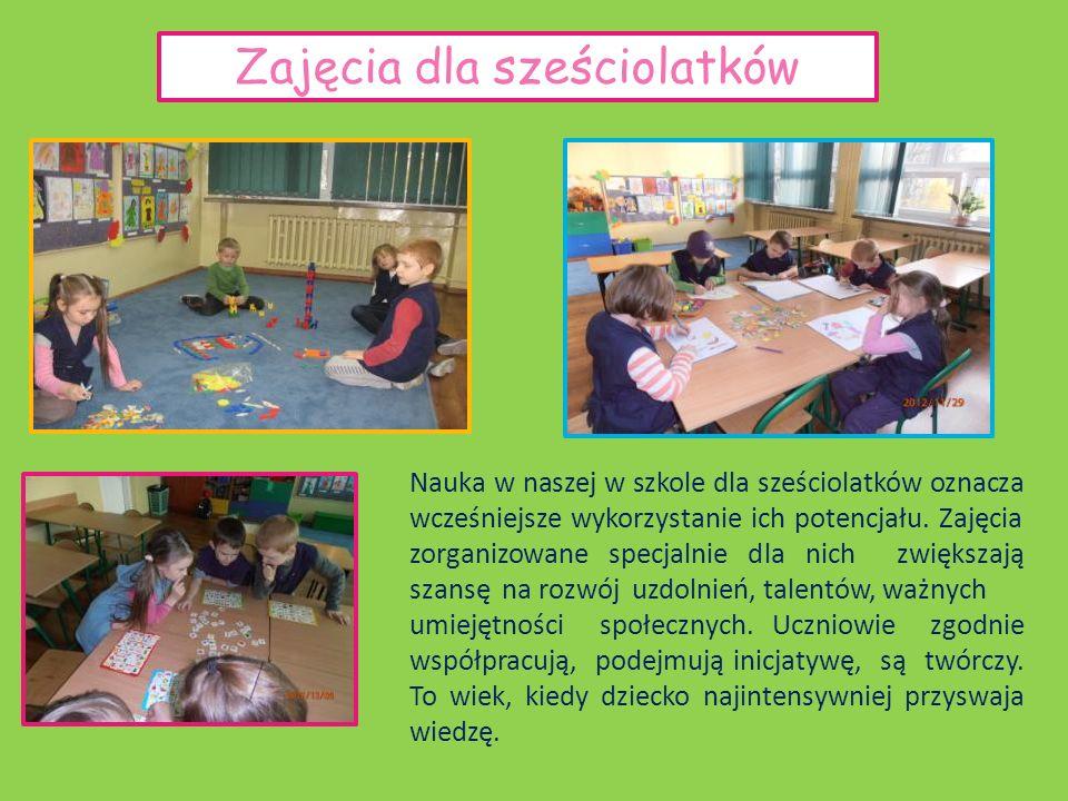 Zajęcia dla sześciolatków