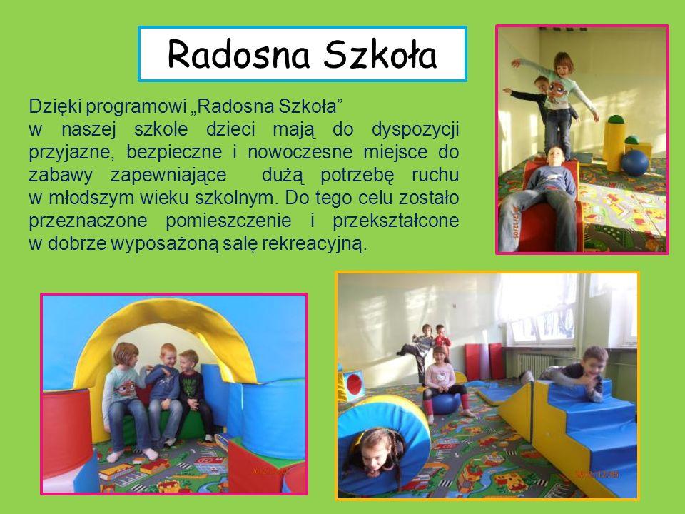 """Radosna Szkoła Dzięki programowi """"Radosna Szkoła"""