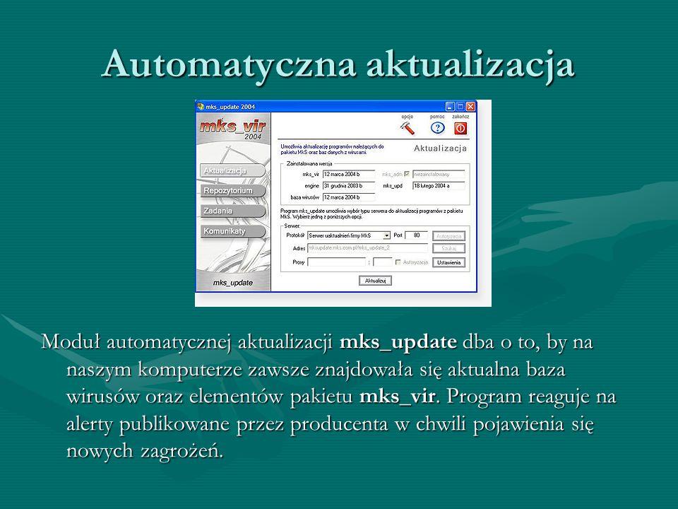Automatyczna aktualizacja