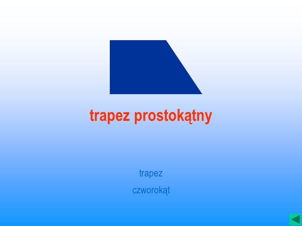 trapez prostokątny trapez czworokąt