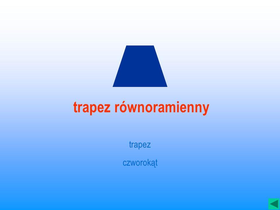 trapez równoramienny trapez czworokąt