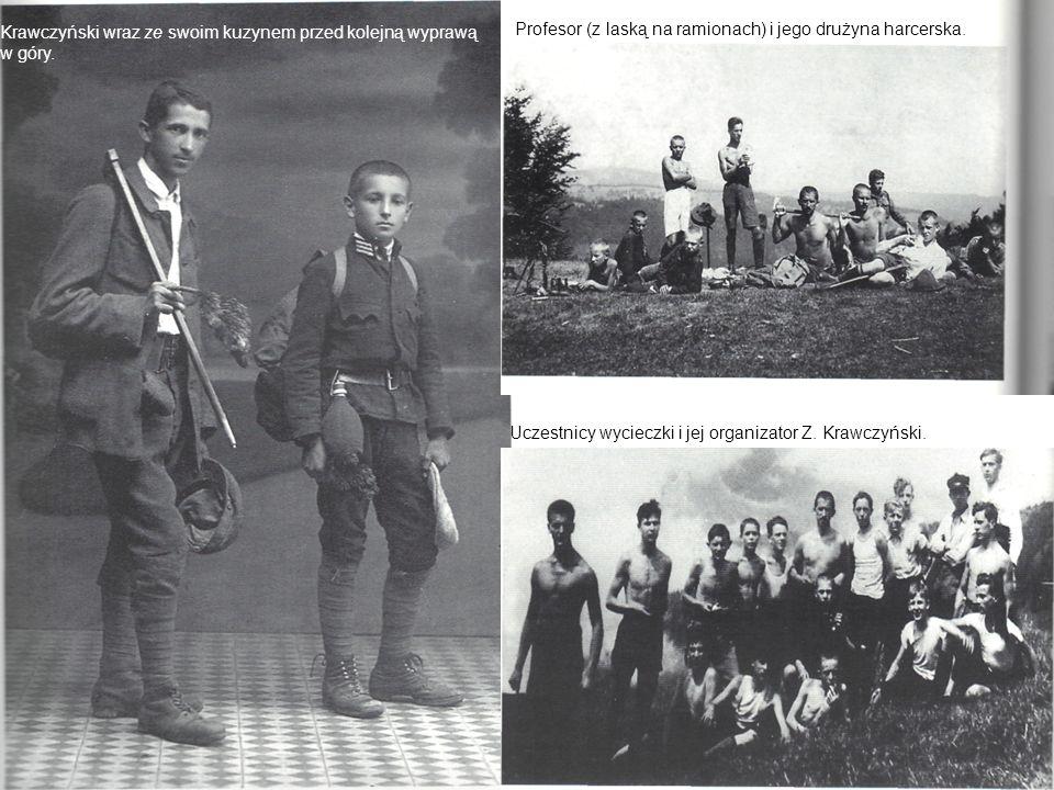 Krawczyński wraz ze swoim kuzynem przed kolejną wyprawą