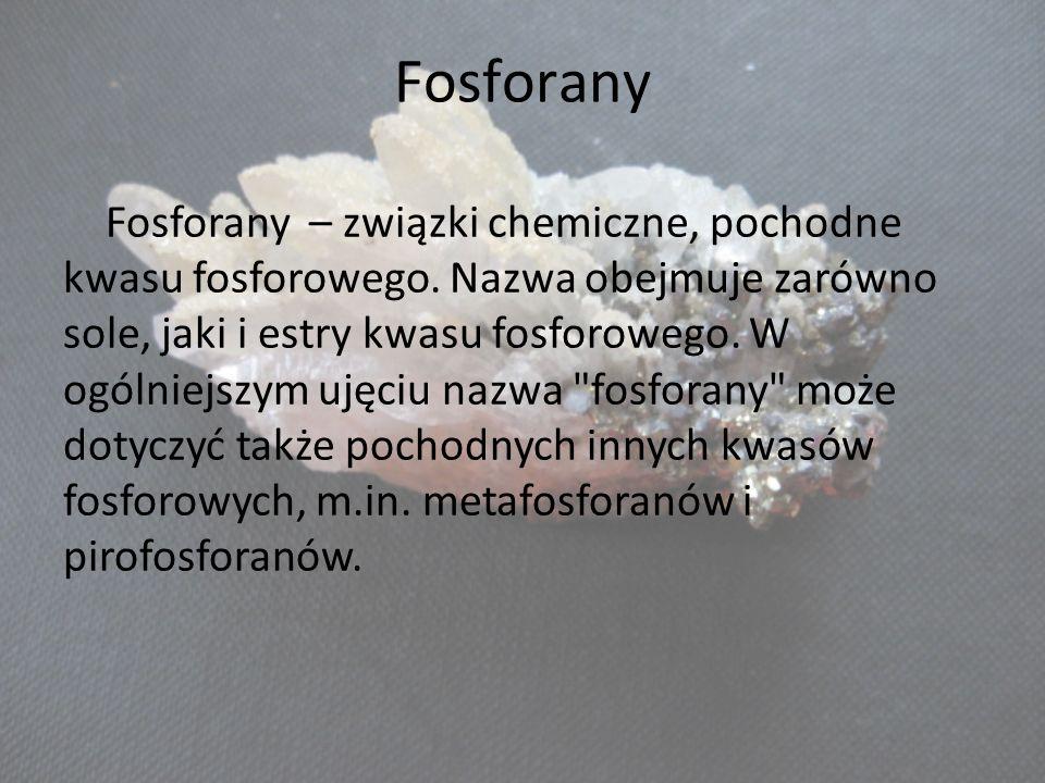 Fosforany