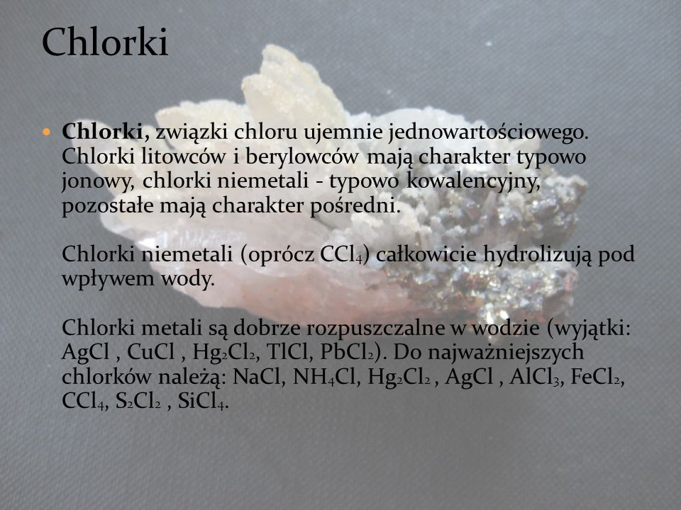3333 Chlorki.