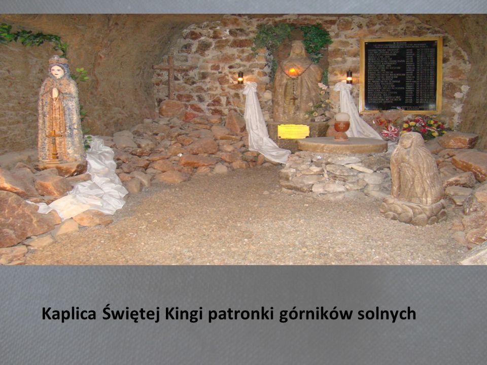 Kaplica Świętej Kingi patronki górników solnych