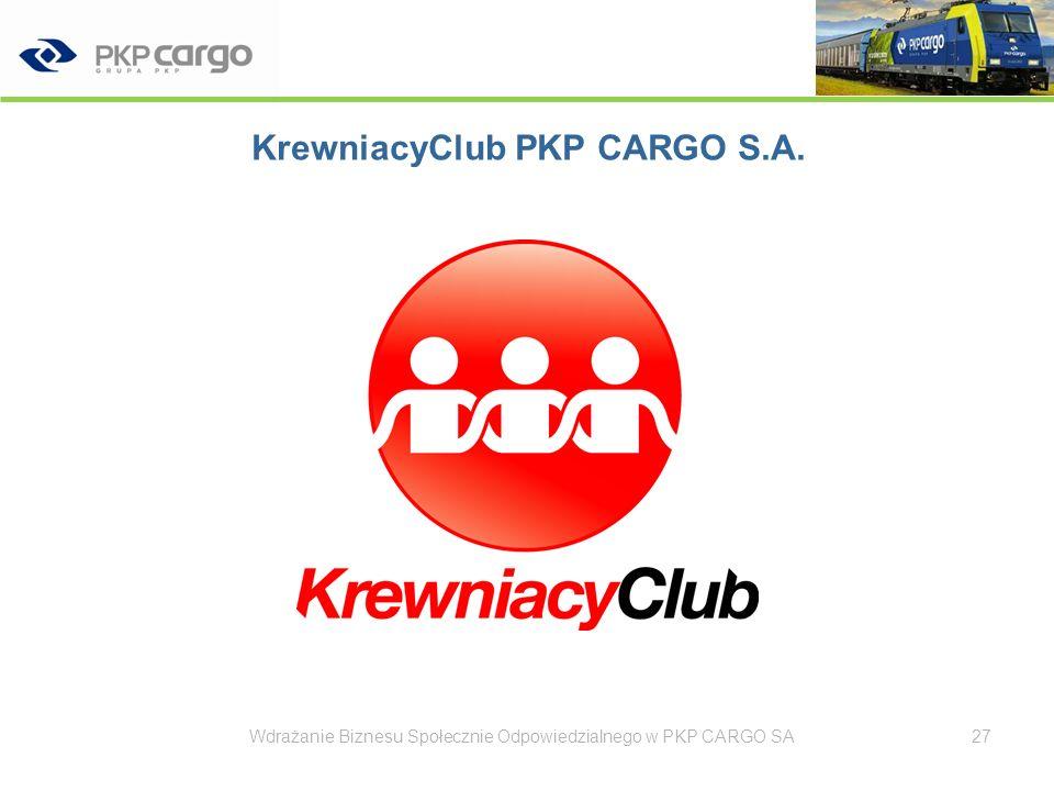 KrewniacyClub PKP CARGO S.A.