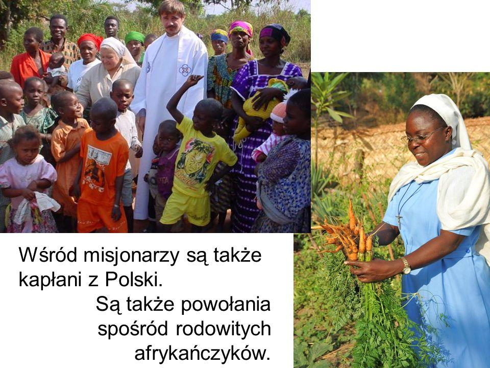 Wśród misjonarzy są także kapłani z Polski.