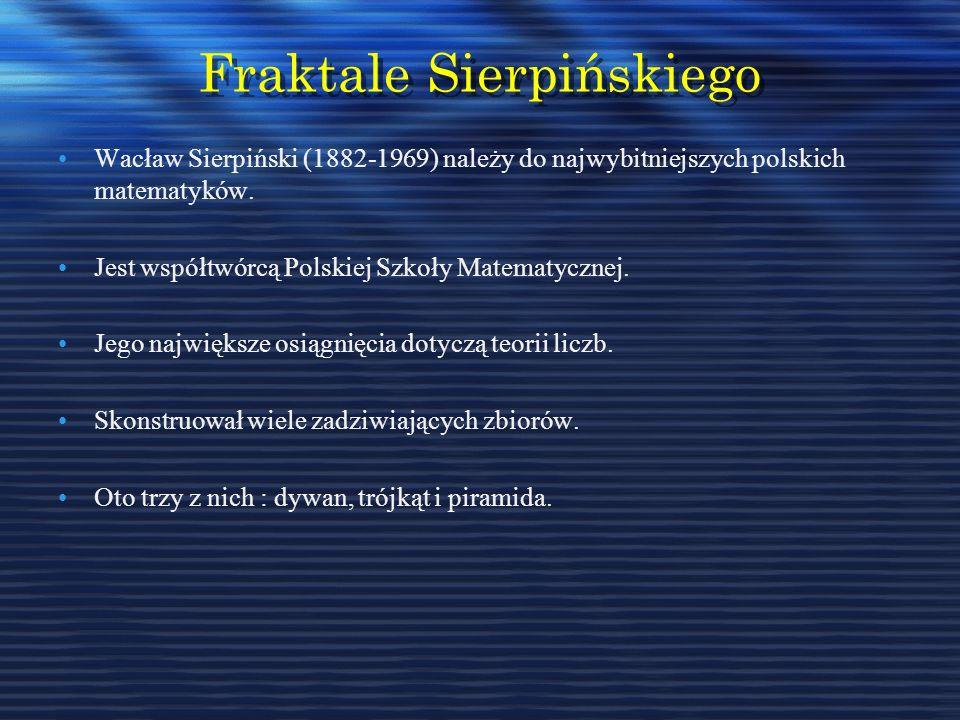 Fraktale Sierpińskiego