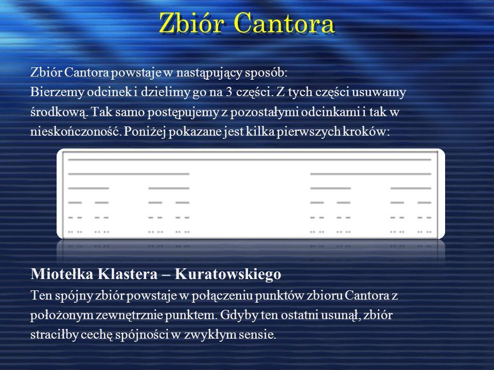 Zbiór Cantora Miotełka Klastera – Kuratowskiego