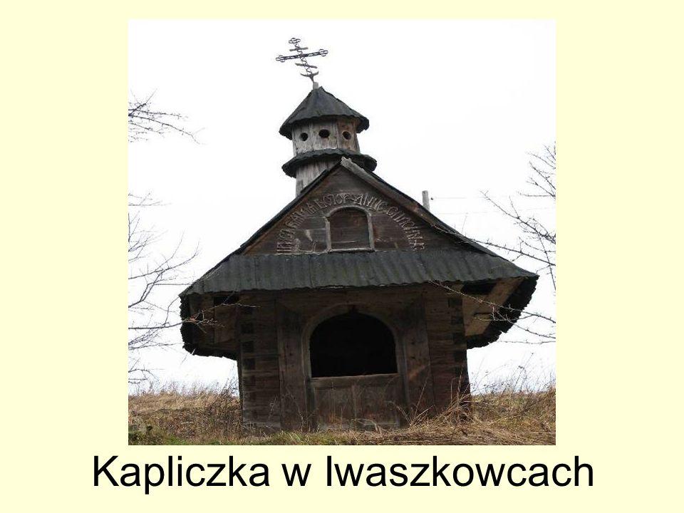 Kapliczka w Iwaszkowcach