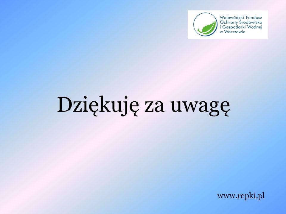 Dziękuję za uwagę www.repki.pl