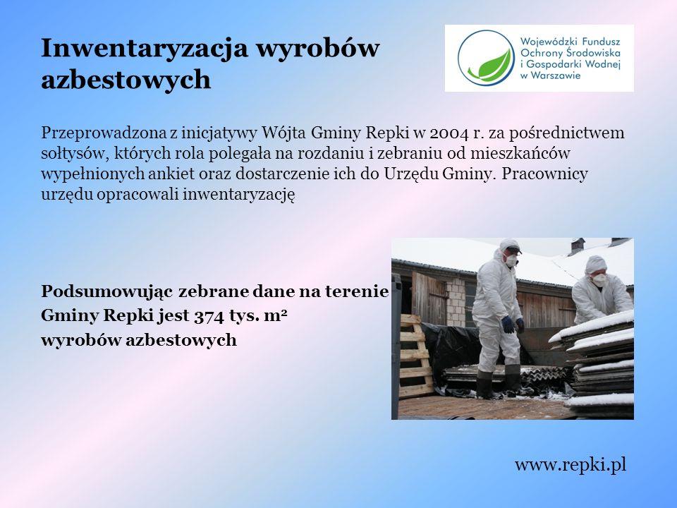 Inwentaryzacja wyrobów azbestowych