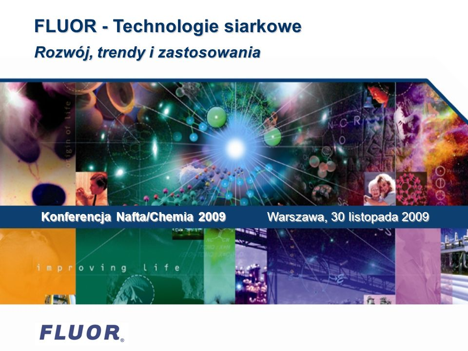 FLUOR - Technologie siarkowe