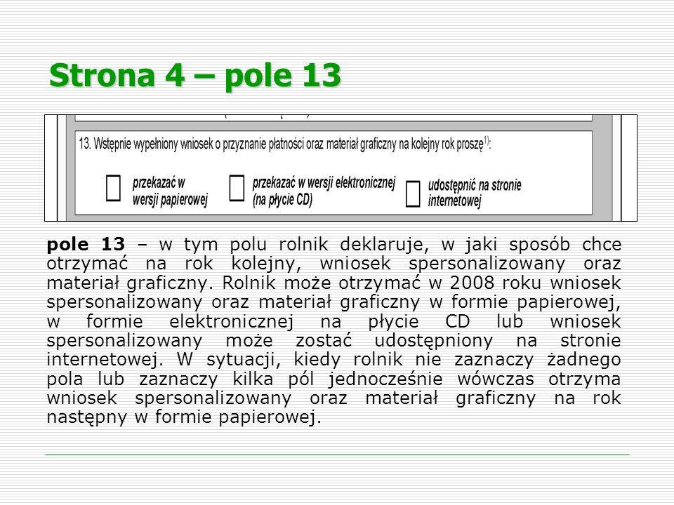 Strona 4 – pole 13