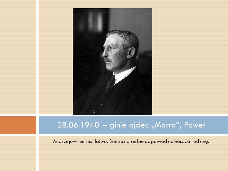 """28.06.1940 – ginie ojciec """"Morro , Paweł"""