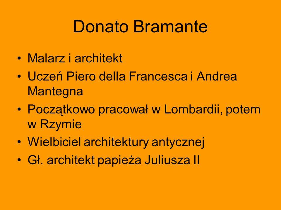 Donato Bramante Malarz i architekt