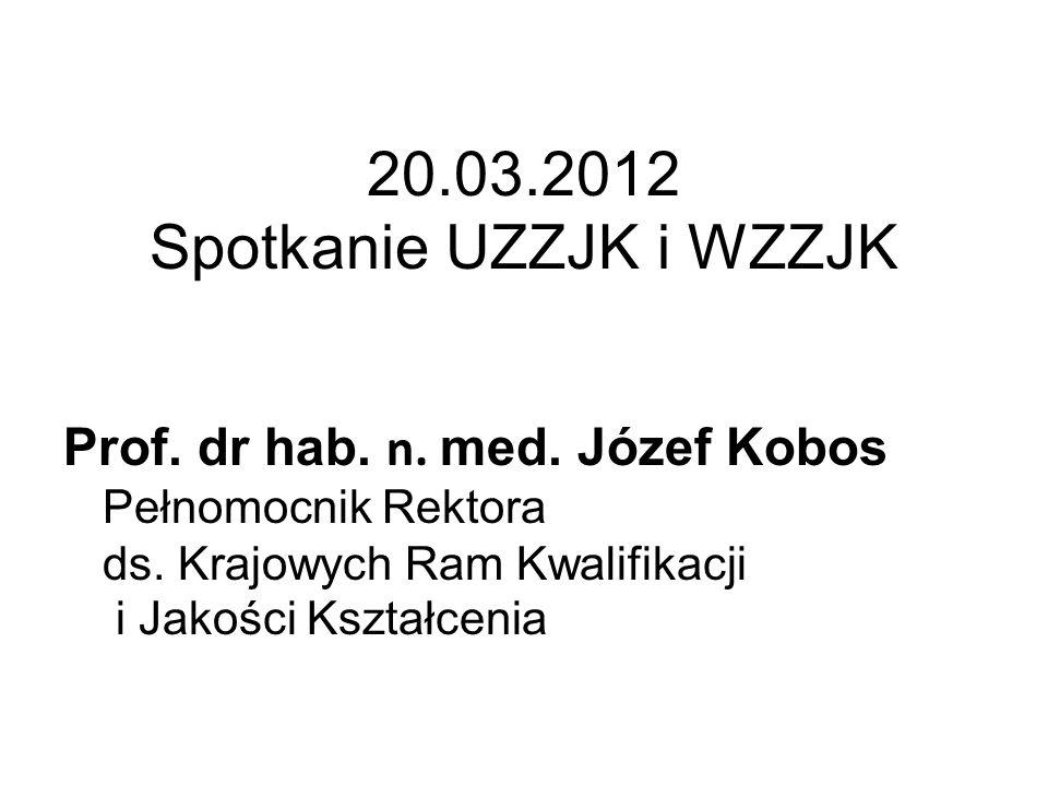 20.03.2012 Spotkanie UZZJK i WZZJK