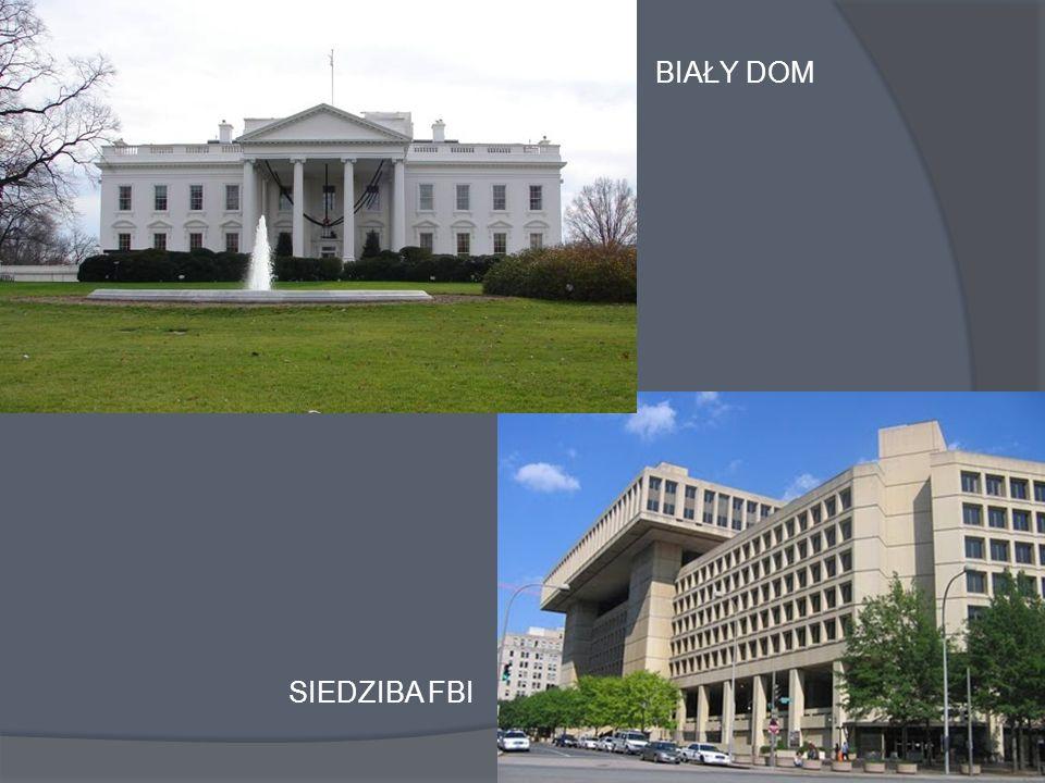 BIAŁY DOM SIEDZIBA FBI