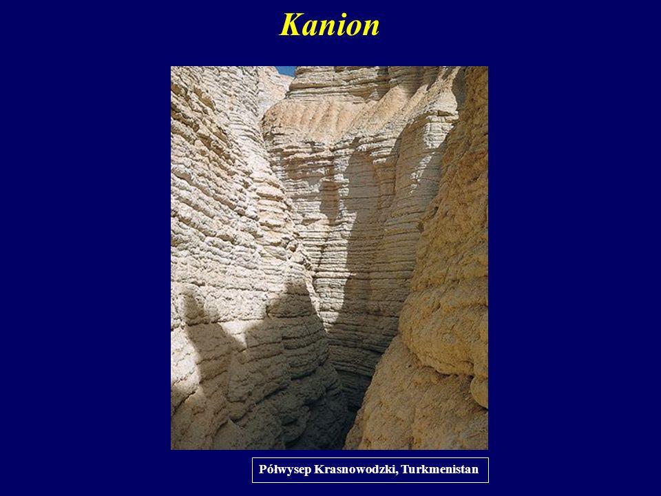 Kanion Półwysep Krasnowodzki, Turkmenistan