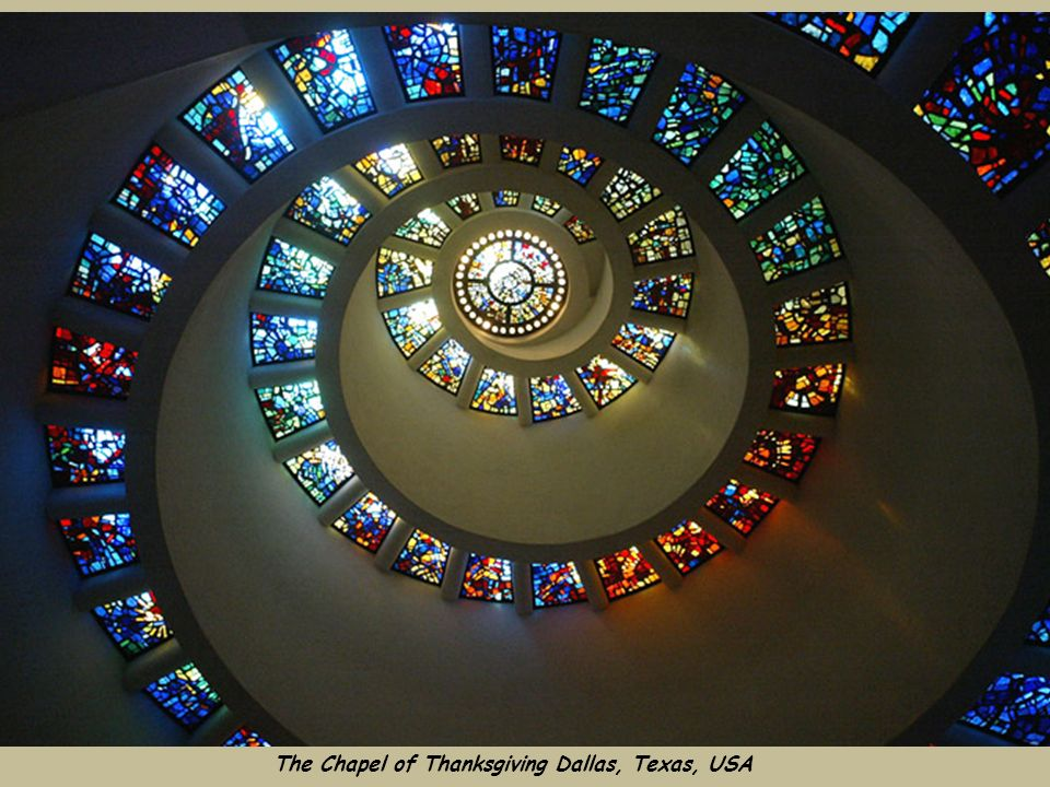 The Chapel of Thanksgiving Dallas, Texas, USA