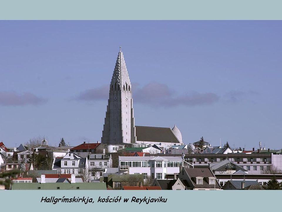 Hallgrímskirkja, kościół w Reykjaviku