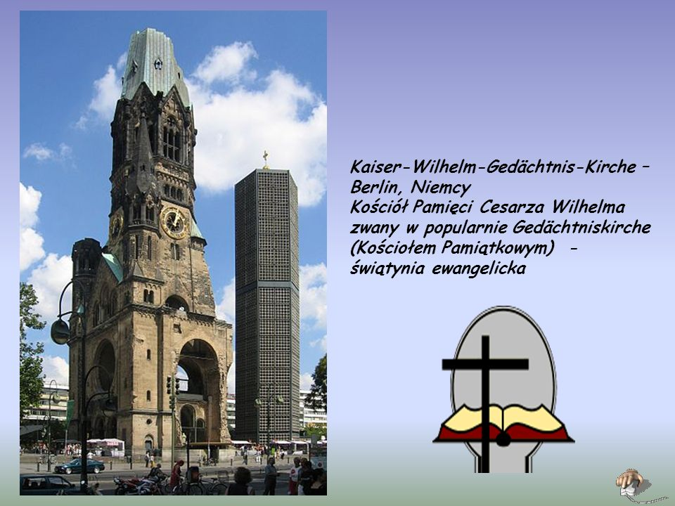 Kaiser-Wilhelm-Gedächtnis-Kirche – Berlin, Niemcy