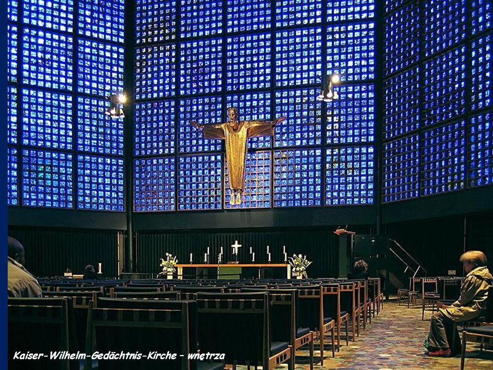 Kaiser-Wilhelm-Gedächtnis-Kirche – wnętrza