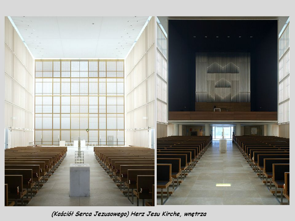 (Kościół Serca Jezusowego) Herz Jesu Kirche, wnętrza