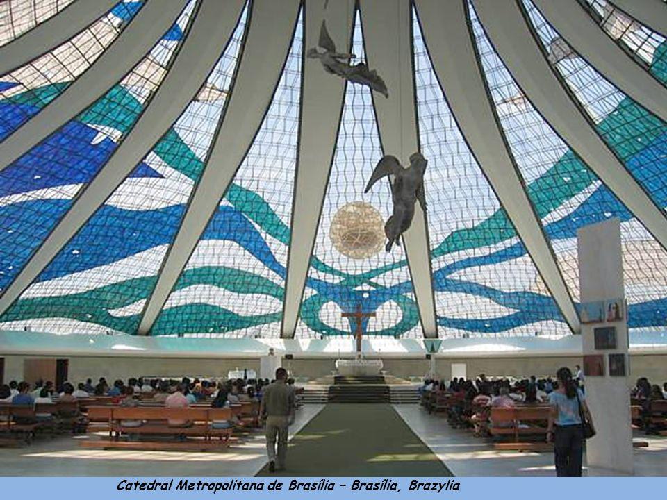 Catedral Metropolitana de Brasília – Brasília, Brazylia