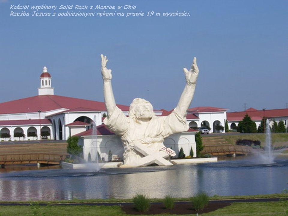 Kościół wspólnoty Solid Rock z Monroe w Ohio.