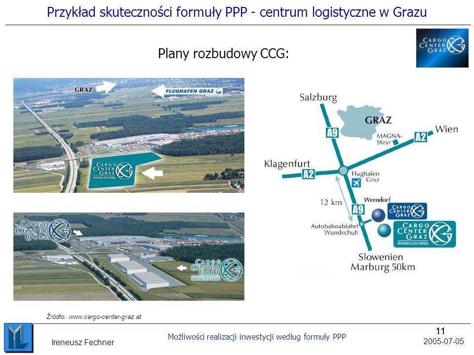 Przykład skuteczności formuły PPP - centrum logistyczne w Grazu