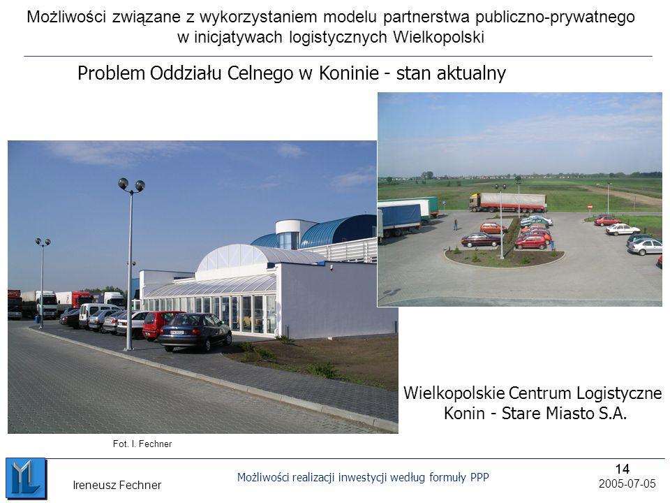 Wielkopolskie Centrum Logistyczne Konin - Stare Miasto S.A.