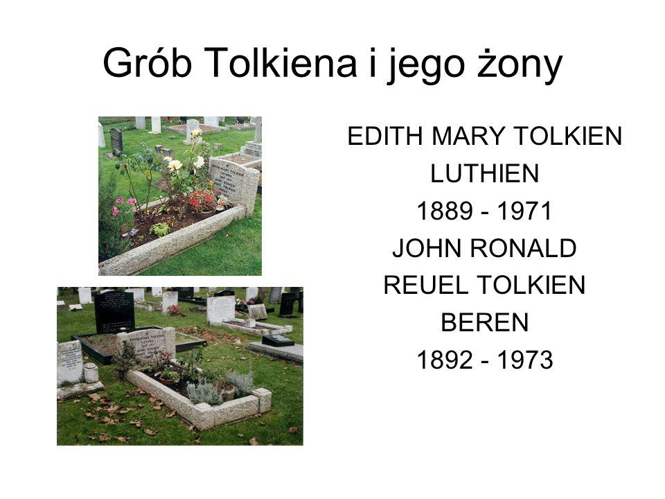 Grób Tolkiena i jego żony
