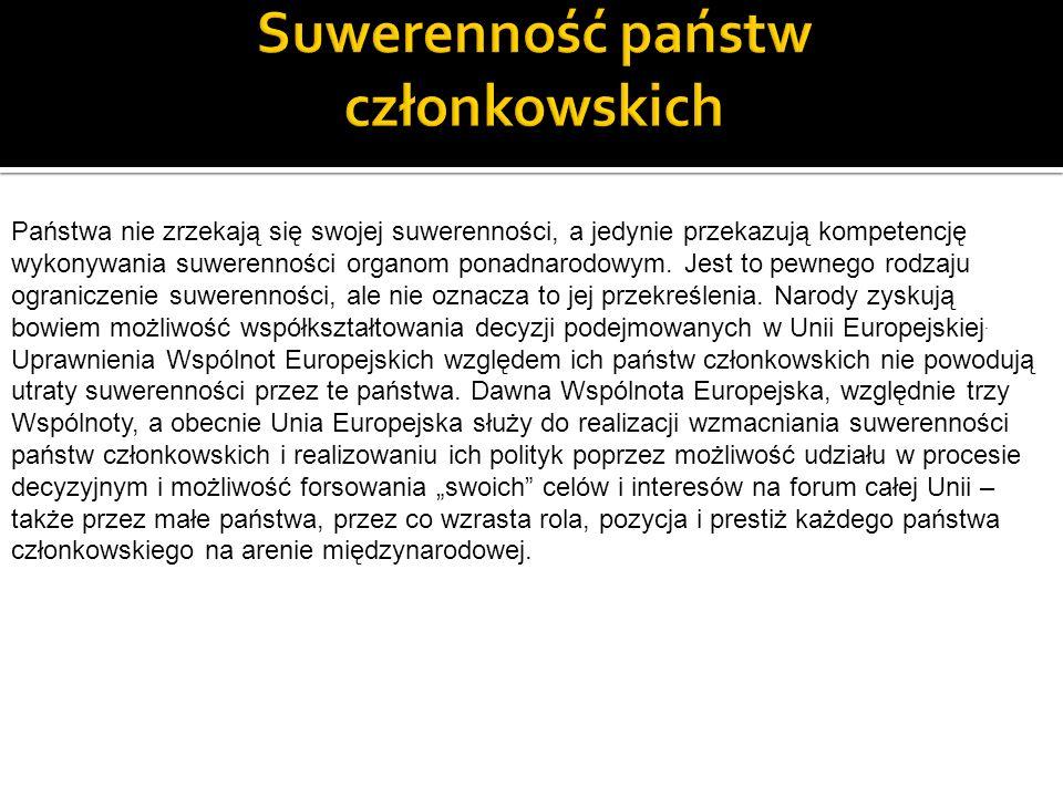 Suwerenność państw członkowskich