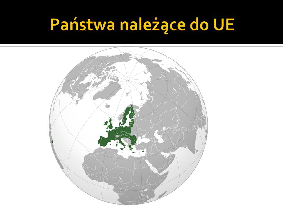 Państwa należące do UE