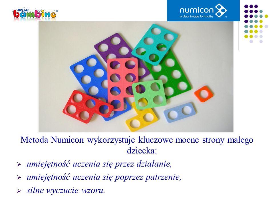 Metoda Numicon wykorzystuje kluczowe mocne strony małego dziecka: