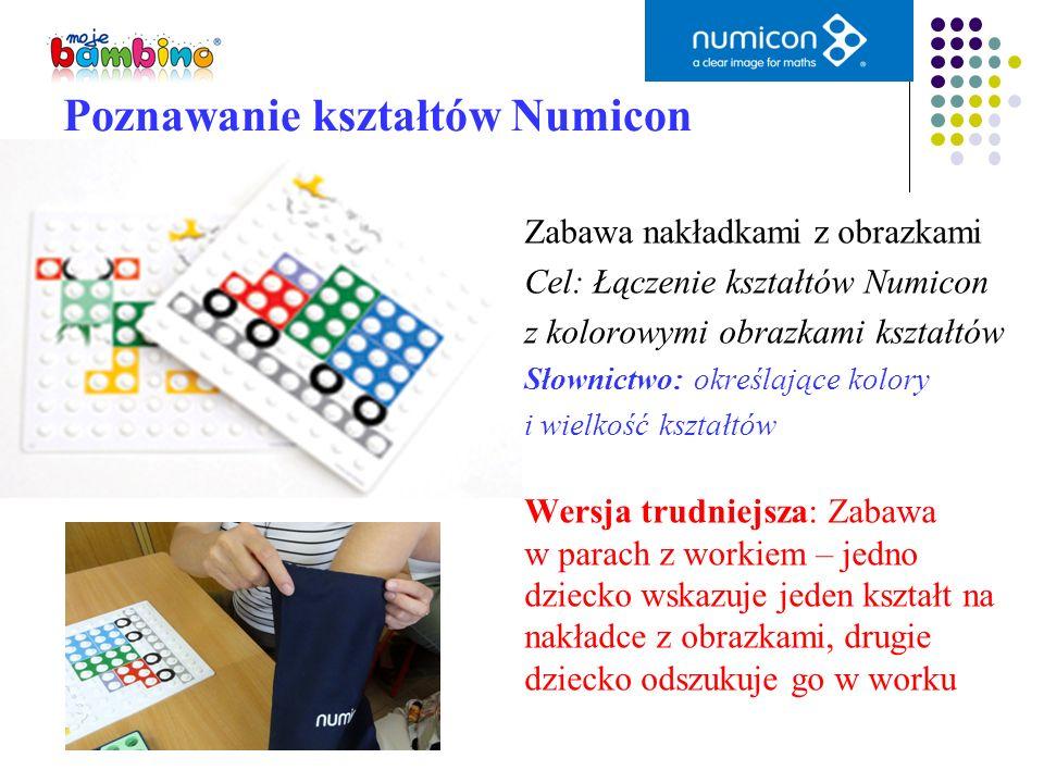 Poznawanie kształtów Numicon