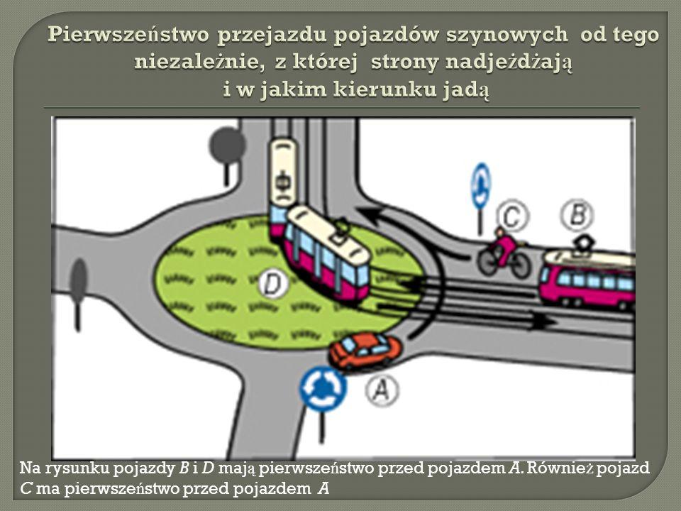 Pierwszeństwo przejazdu pojazdów szynowych od tego niezależnie, z której strony nadjeżdżają i w jakim kierunku jadą