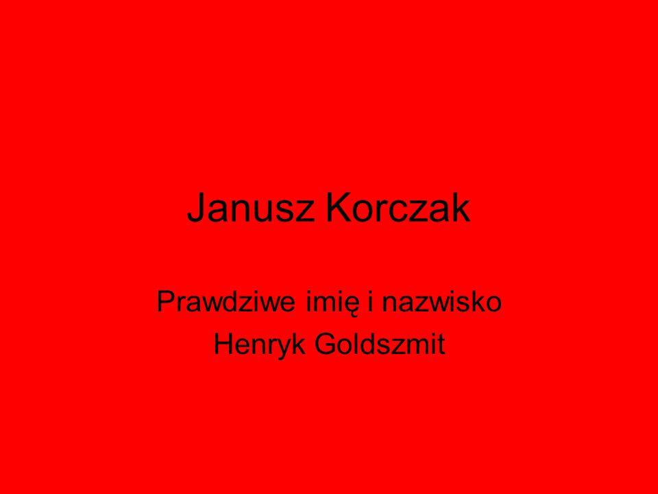 Prawdziwe imię i nazwisko Henryk Goldszmit