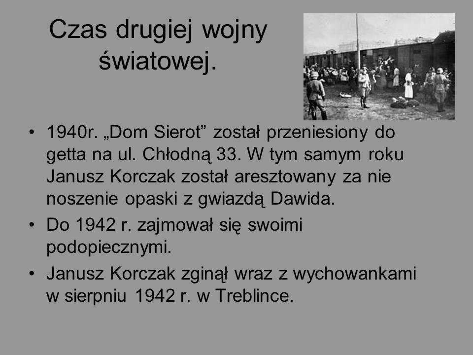 Czas drugiej wojny światowej.