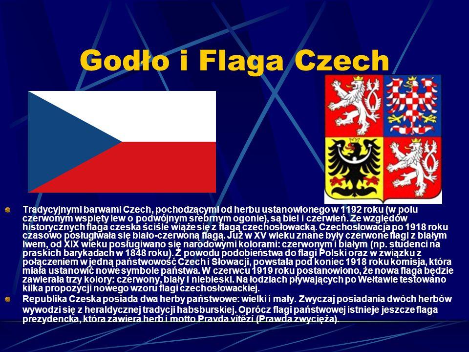 Godło i Flaga Czech
