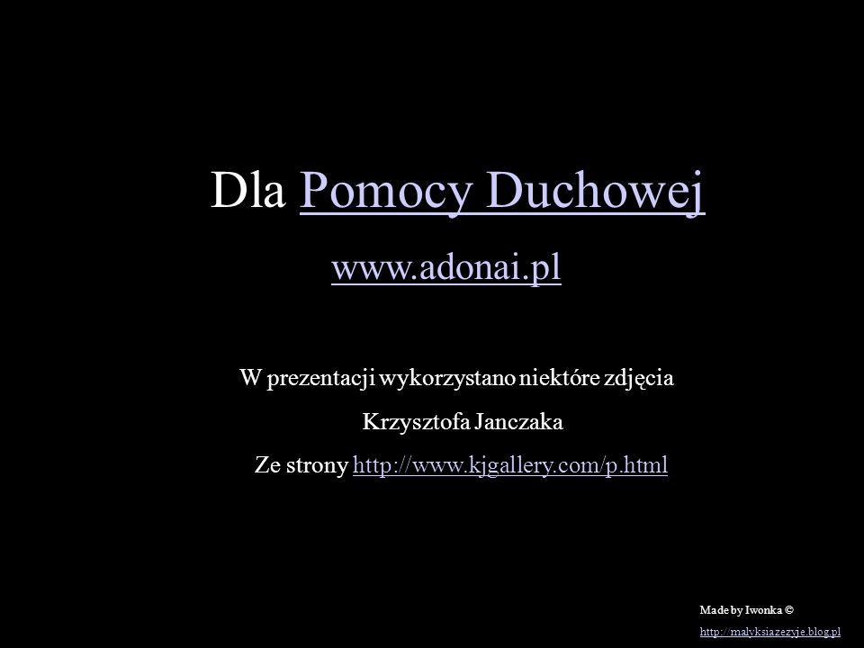 www.adonai.pl Dla Pomocy Duchowej