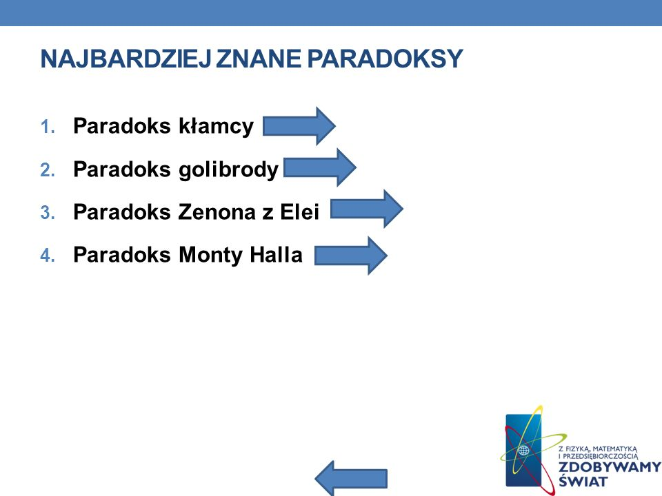 Najbardziej znane paradoksy